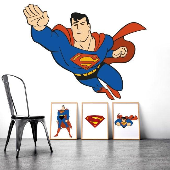 Decorative vinyl superman