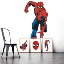 Decorative vinyl walls spiderman