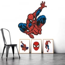 Stickers and vinyls spiderman