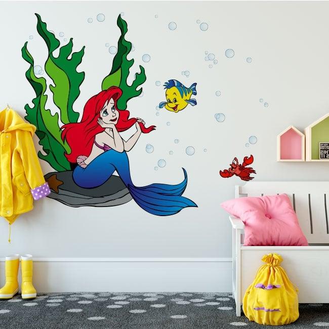 Decorative vinyl walls the little mermaid