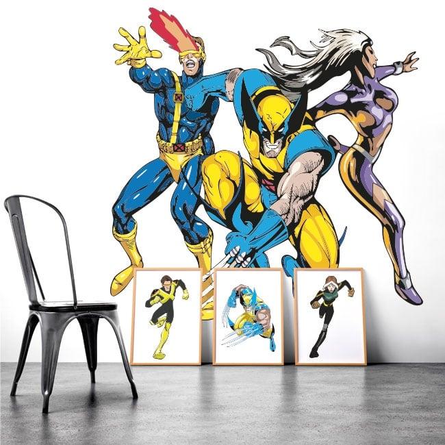 Decorative vinyl walls x-men