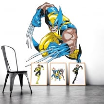 Decorative vinyl wolverine x-men