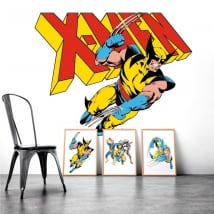 Decorative vinyl x-men