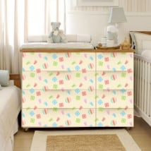 Vinyl for furniture baby rooms