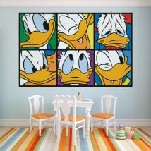 Children vinyls donald duck
