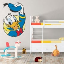 Children vinyls disney donald duck
