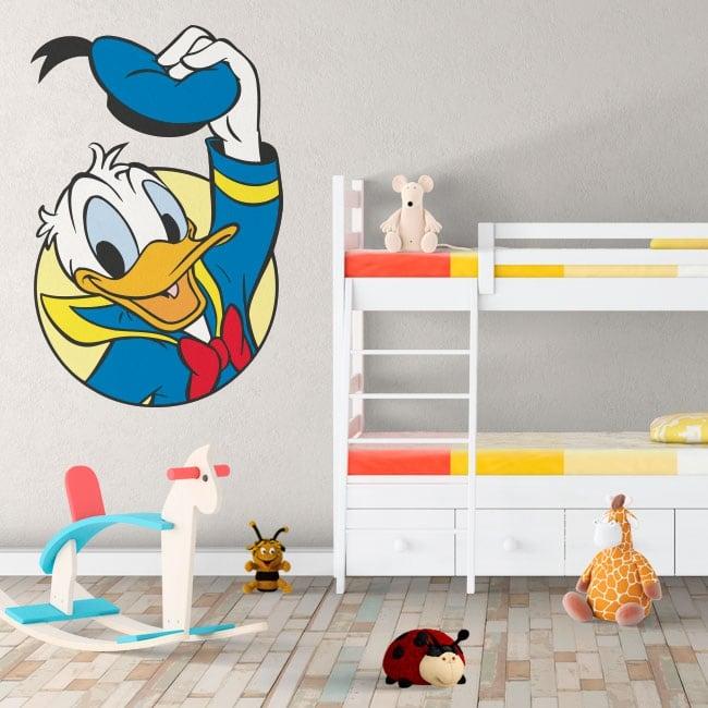 Children vinyls disney donald duck