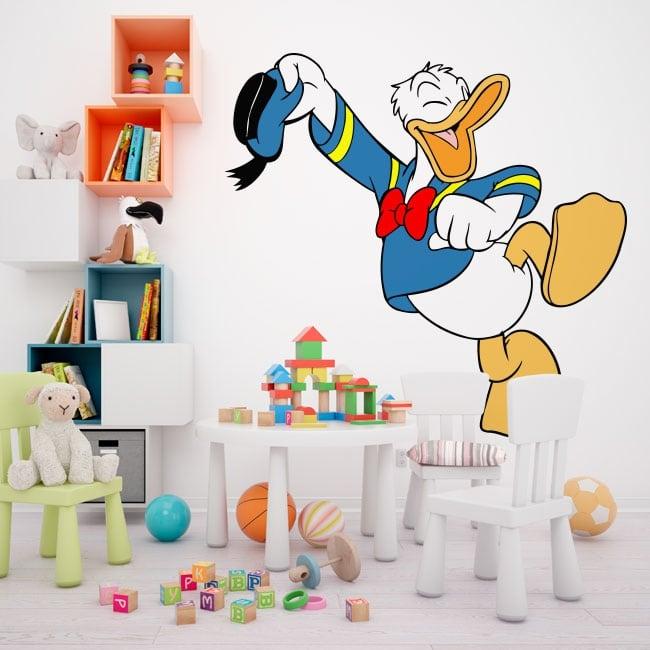 Children's decorative vinyl donald duck