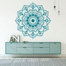 Decorative vinyl mandala wall