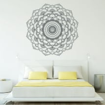 Stickers of vinyl mandalas