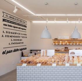 Decorative vinyl bread making