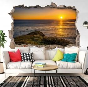 Vinyl sunset ranchos palos verdes california 3d