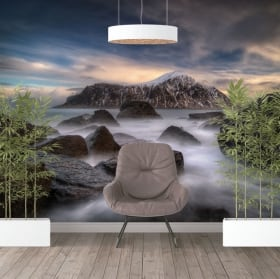 Wall murals vinyls islands lofoten norway