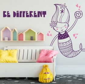 Decorative vinyl walls siren be different