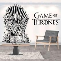 Decorative vinyl game of thrones