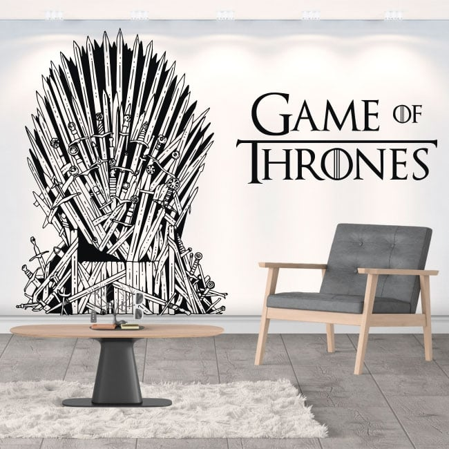 Decorative vinyl game of thrones