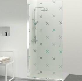 Vinyl for screens crosses bathrooms