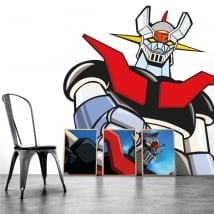 Decorative vinyl mazinger z