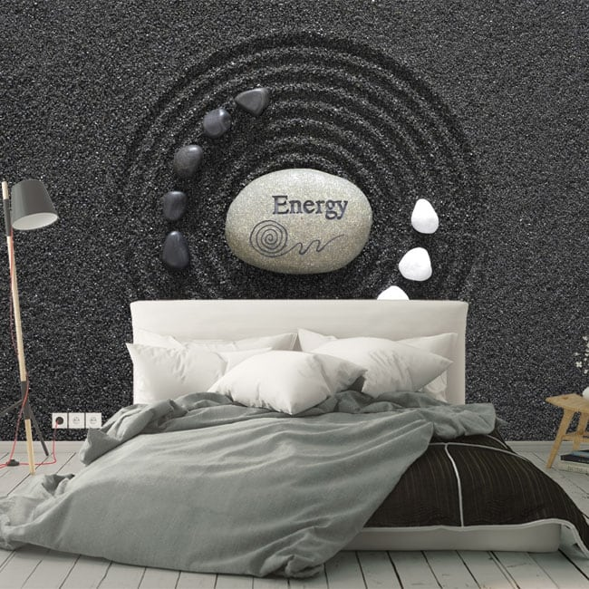 Wall murals stones zen energy