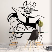 Vinyl and stickers mazinger z