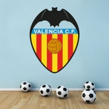 Stickers valencia soccer club shield