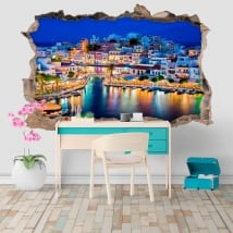 Decorative vinyl greece nikolaos island of crete