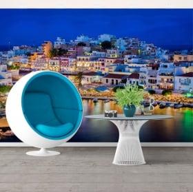 Wall mural greece agios nikolaos island of creta