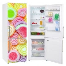 Vinyl coolers and refrigerators jellybeans