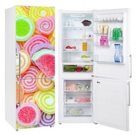 Vinyl coolers and refrigerators jellybeans