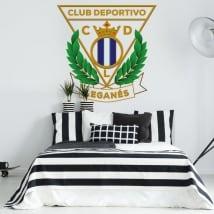 Vinyl football leganés sports club shield