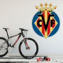 Vinyl shield villarreal football club