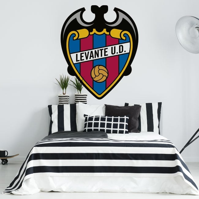 Vinyl football levante ud shield