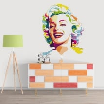 Decorative vinyl marilyn monroe
