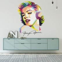 Wall stickers marilyn monroe