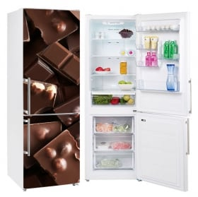 Vinyl coolers and refrigerators chocolates