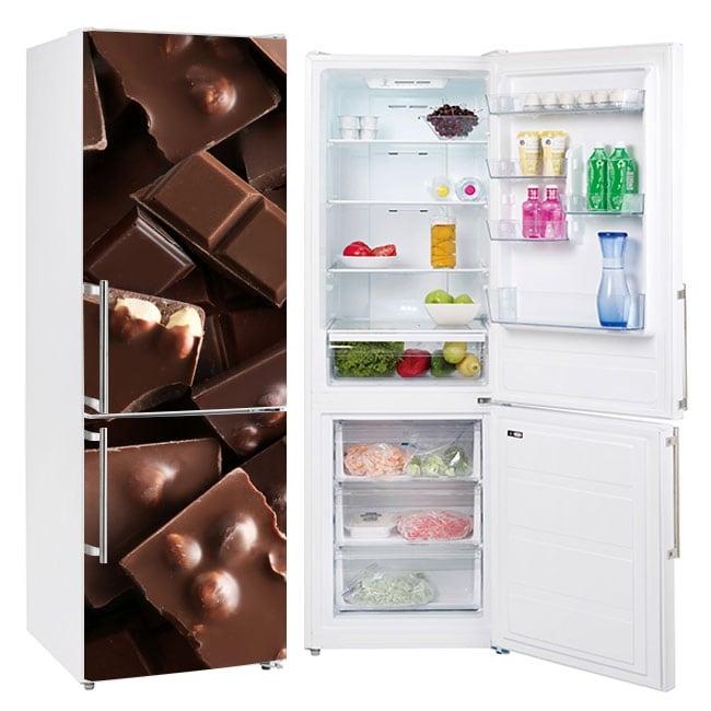 Vinyl coolers and refrigerators chocolates
