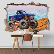 Vinyl walls bigfoot 3d