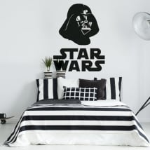 Decorative vinyl star wars