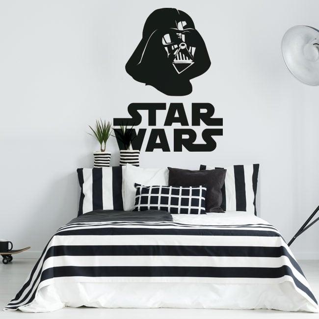 Decorative vinyl star wars