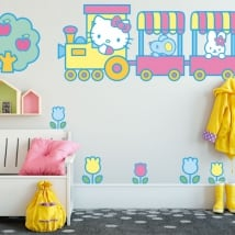 Children's vinyl hello kitty