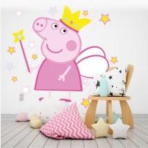 Adhesive vinyl and stickers peppa pig