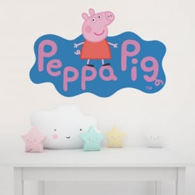 Children's vinyl peppa pig
