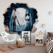Vinyl walls corpse bride 3d