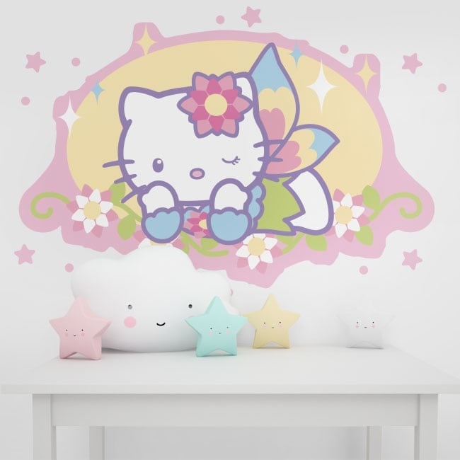 Vinyl and stickers hello kitty