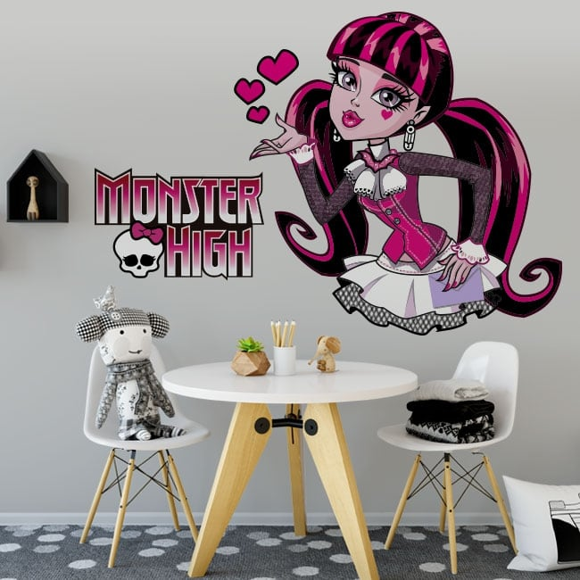 Vinyl and stickers monster high