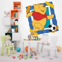 Vinyl and stickers winnie the pooh football
