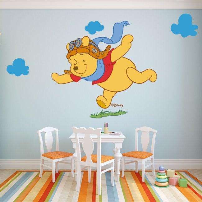 Children's vinyl winnie the pooh aviator