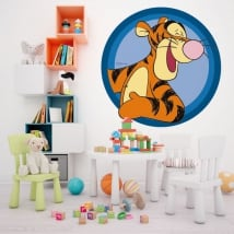 Vinyl children's walls tigger winnie the pooh