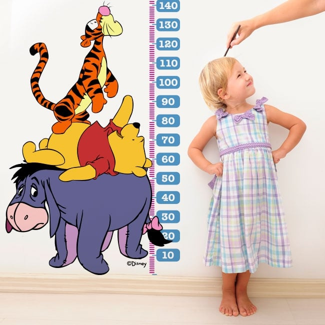 Children's vinyl measurer winnie the pooh