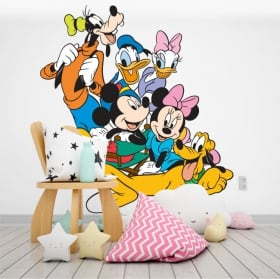 Children's vinyl disney characters